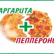 Пицца 2'Pizza: Маргарита+Пепперони Фото
