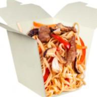Лапша wok с телятиной Фото