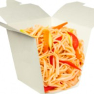 Лапша wok с овощами Фото