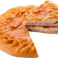 Пирог с мясом (свинина) и картошкой Фото