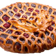 Пирог вишня-шоколад Фото