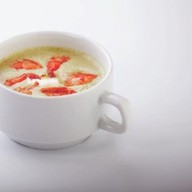 Крем-суп из шпината с сыром Фото