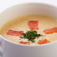 Суп-пюре с форелью Фото