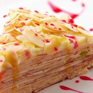 Слоенный блинный пирог Фото