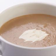 Грибной крем-суп со сметаной Фото