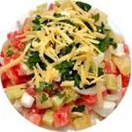 Салат сырный Фото