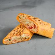 Сырно-чесночная шаурма Фото
