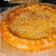 Осетинский пирог с рыбой и рисом Фото