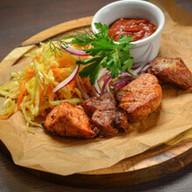 Шашлык из свинины с томатным соусом Фото
