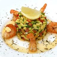 Салат «Авокадо с креветками» Фото