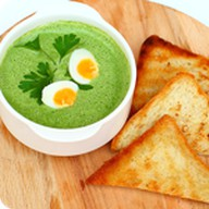 Крем суп из шпината Фото