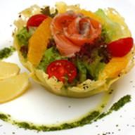 Фирменный салат Паста Пицца Фото