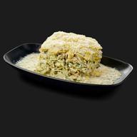 Лазанья с куриным филе и шпинатом Фото