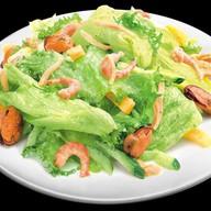 Салат Микс-салат с морепродуктами Фото