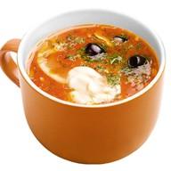 Суп Солянка мясная Фото