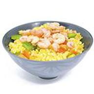 Японский рис с креветками Фото