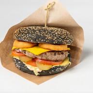 Black burger Фото