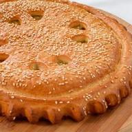 Пирог с курицей и сыром Фото
