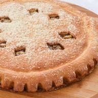 Пирог с грушей и грецким орехом Фото