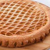 Пирог с курагой Фото