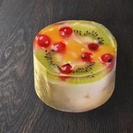 Творожно-фруктовый чизкейк Фото