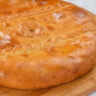 Татарский пирог с говядиной и гречкой Фото