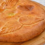 Татарский пирог с семгой,сливочным сыром Фото