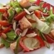 Овощной с лососем Фото