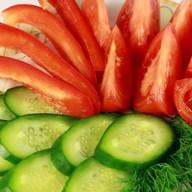 Нарезка из овощей Фото