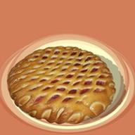 Пирог клюква с яблоком Фото