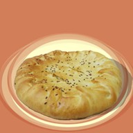 Пирог ветчина с сыром Фото