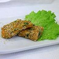 Харумаки с жареной свининой и овощами Фото