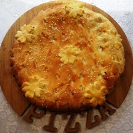 Пирог со свининой и капустой Фото