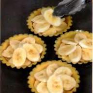 Тарталетки с фруктами Фото
