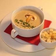 Суп пюре грибной Фото