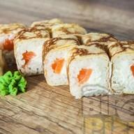 Омлетка с лососем Фото