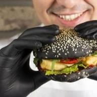 Перчатки для бургера Фото