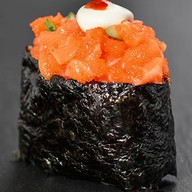 Спайс суши лосось Фото