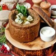 Грибной суп с мясными кондюбками Фото