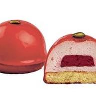 Пирожное Малиновая бомба Фото