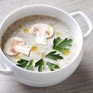 Сливочный суп-крем из шампиньонов Фото
