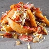 Картофельные дольки жареные Фото