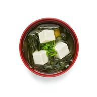 Суп мисо с креветками Фото