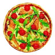 Пицца с сёмгой Фото
