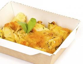 Картофель запеченный с беконом - Фото