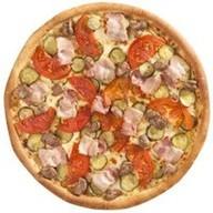 Гриль пицца Фото