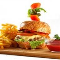 Бургер фирменный Mandarin Фото