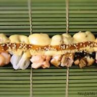 Сет из запеченных гунканов Фото