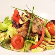 Тайский салат с телятиной Фото