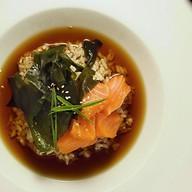 Суимоно с лососем Фото